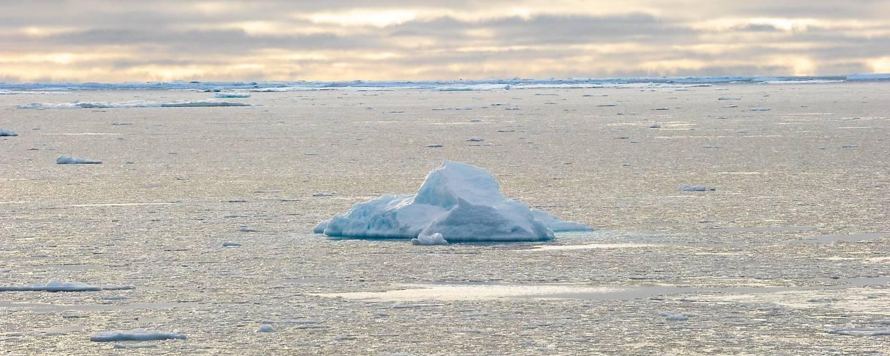 Eisfreier Ozean