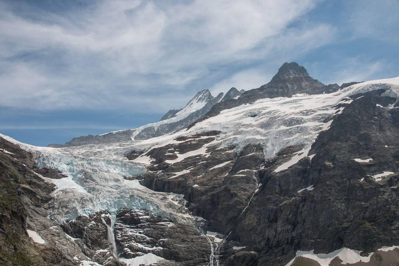 Rascher Gletscherschwund