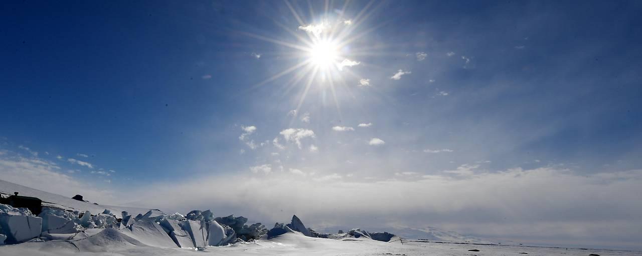 Riesiges Ozonloch