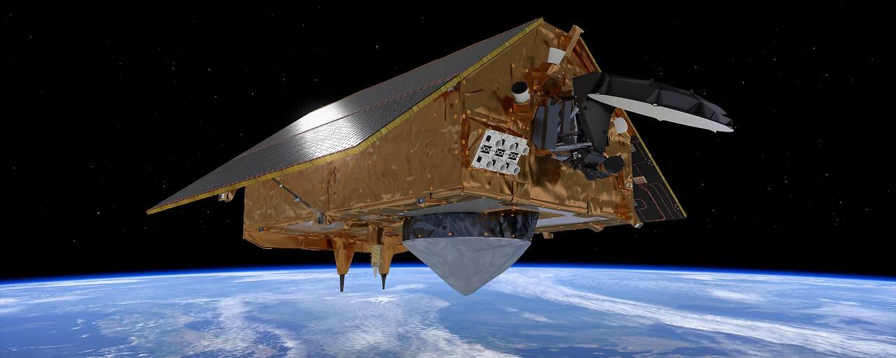 Neuer Umweltsatellit